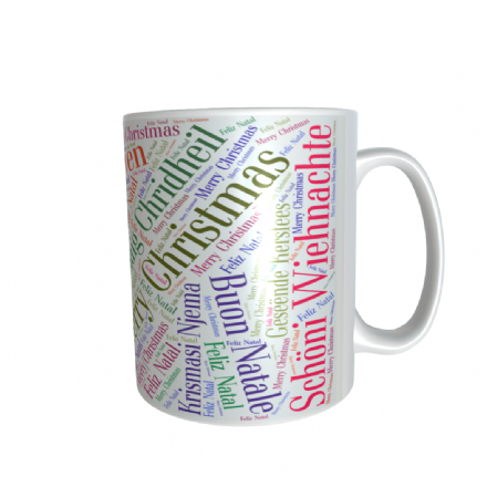 Christmas Round the World Mug